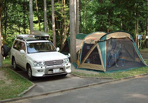 オートキャンプの写真
