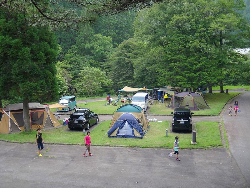 キャンプ場の俯瞰01
