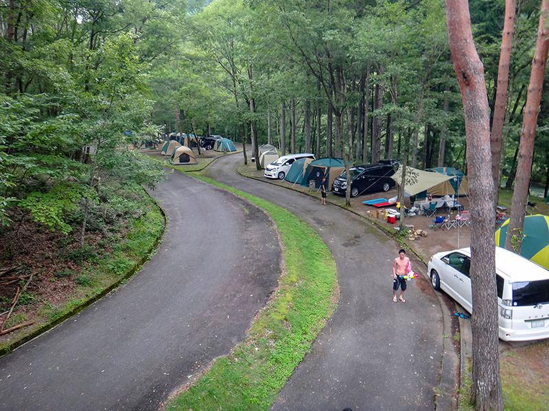 キャンプ場の俯瞰02